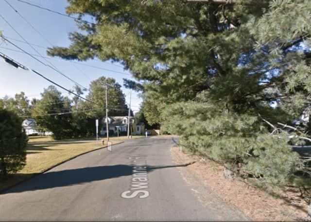 Swannekin Road in Blauvelt.