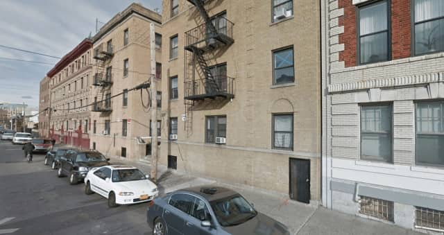 A man in Yonkers fired a gun at a woman during a domestic dispute at a Hamilton Avenue apartment complex.