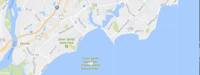 Long Island Sound near Charles Island.