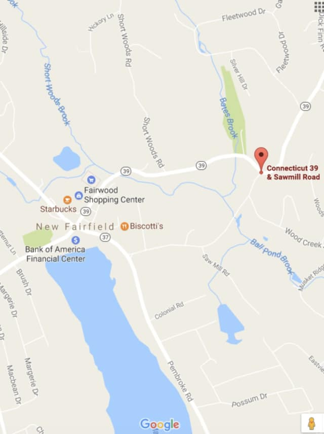 The fatal crash occurred on Route 39, just past the center of New Fairfield but before Candlewood Lake.
