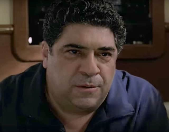 "Vincent Pastore of New Rochelle as Big Pussy on ""The Sopranos"" is headed to Hackensack court."