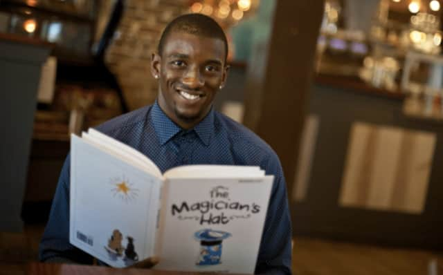 Super Bowl 2017 champ Malcolm Mitchell will be in Bridgeport this month the read with kids and celebrate the 50th anniversary of the School Volunteer Association.