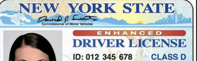 New York State driver's license.