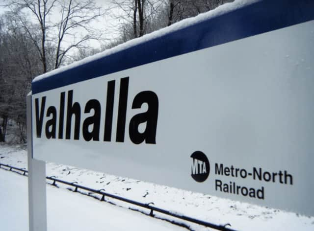 Two girls were arrested after allegedly assaulting a woman at the Valhalla Metro-North station.