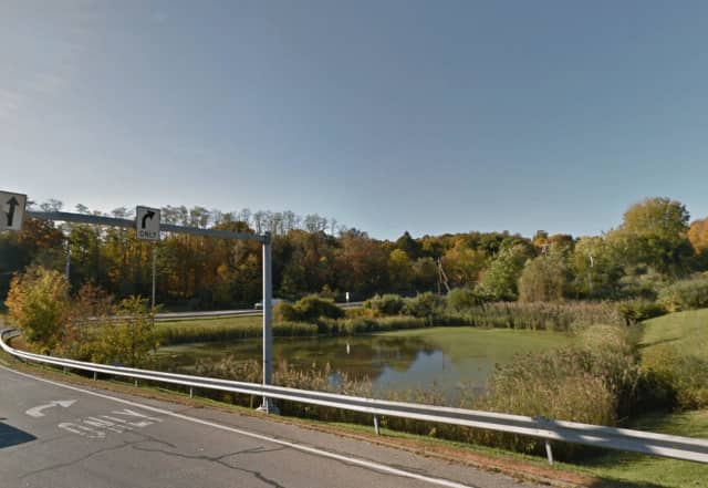 New York State Police saved a man from a pond near the intersection of Route 22 and Doansburg Road in Southeast.