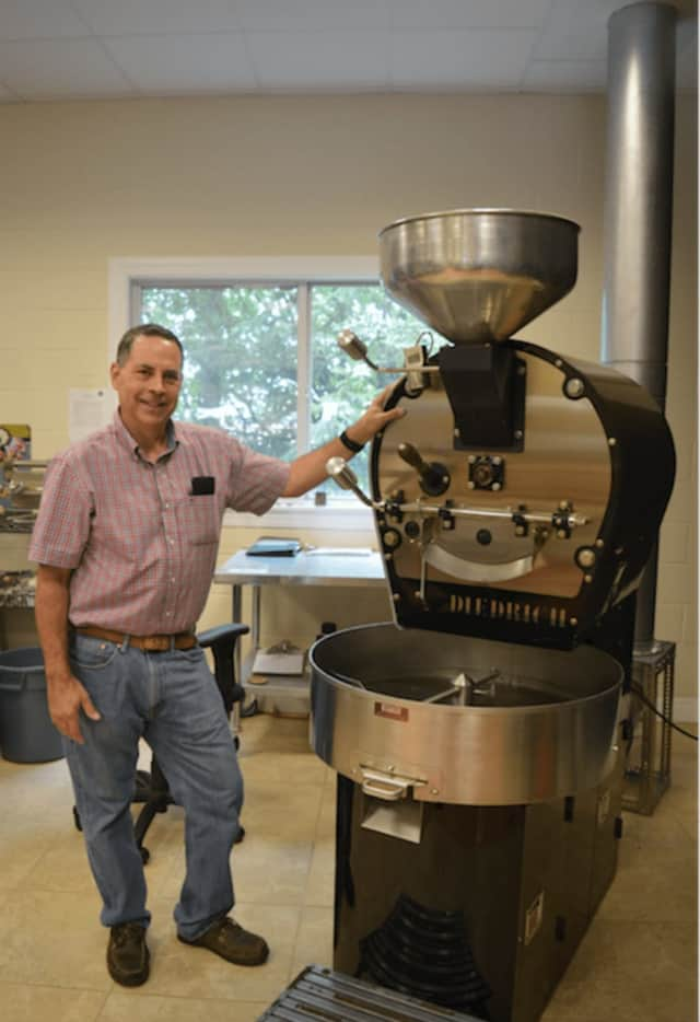 Ed Freedman of Shearwater Coffee Roasters is set to open a cafe in Fairfield.