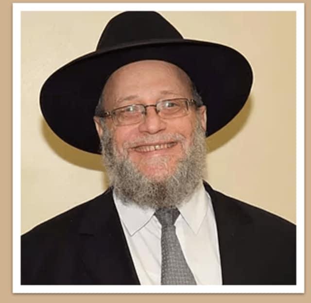 Rabbi Yosef Strassfeld of Englewood.