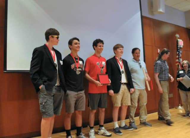 A team from Fairfield Warde High School competed in the Connecticut High School Geography Challenge.