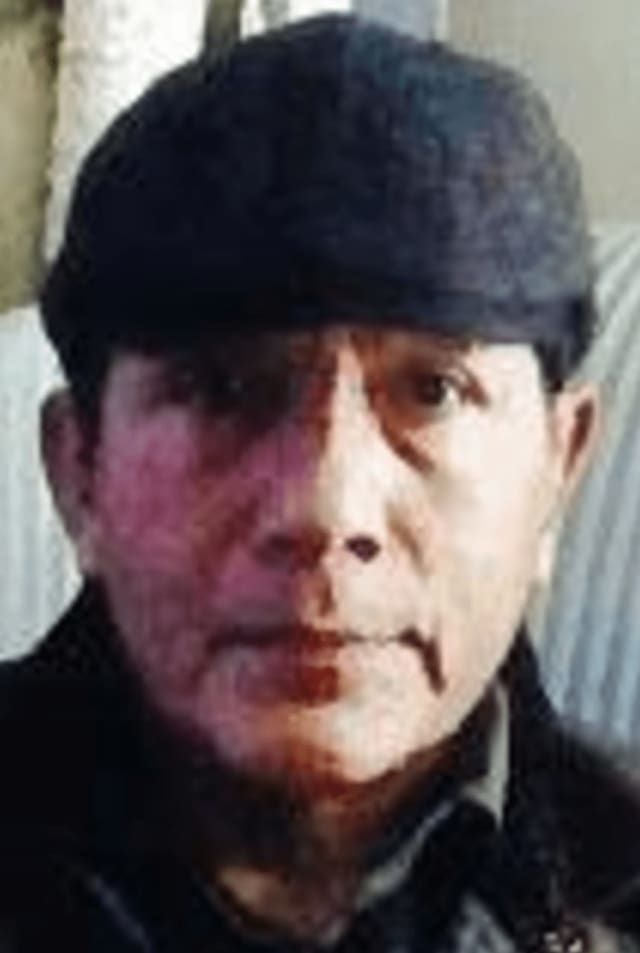 An alert has been issued for 60-year-old Cesar Manrique, who was reported missing in White Plains.