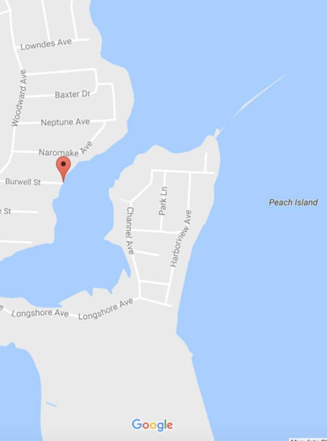 The kayakers set off from Burwell Street in South Norwalk and ended up on Peach Island.