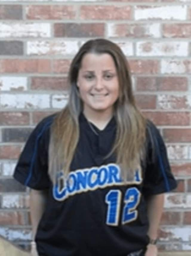 New head softball coach Jaime Lorenzo as a senior at Concordia College.