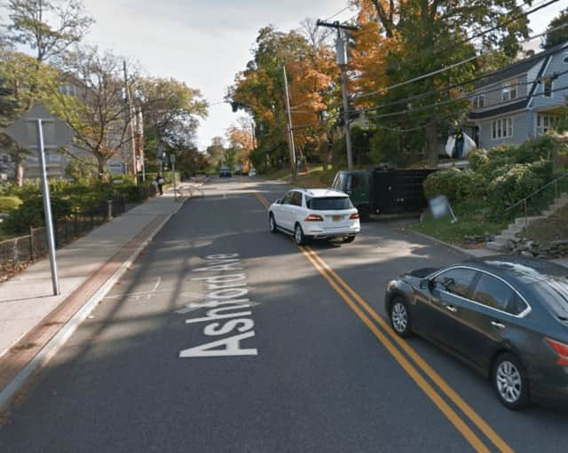 A 55-year-old Ardsley woman was the victim of a hit-and-run on Ashford Avenue.