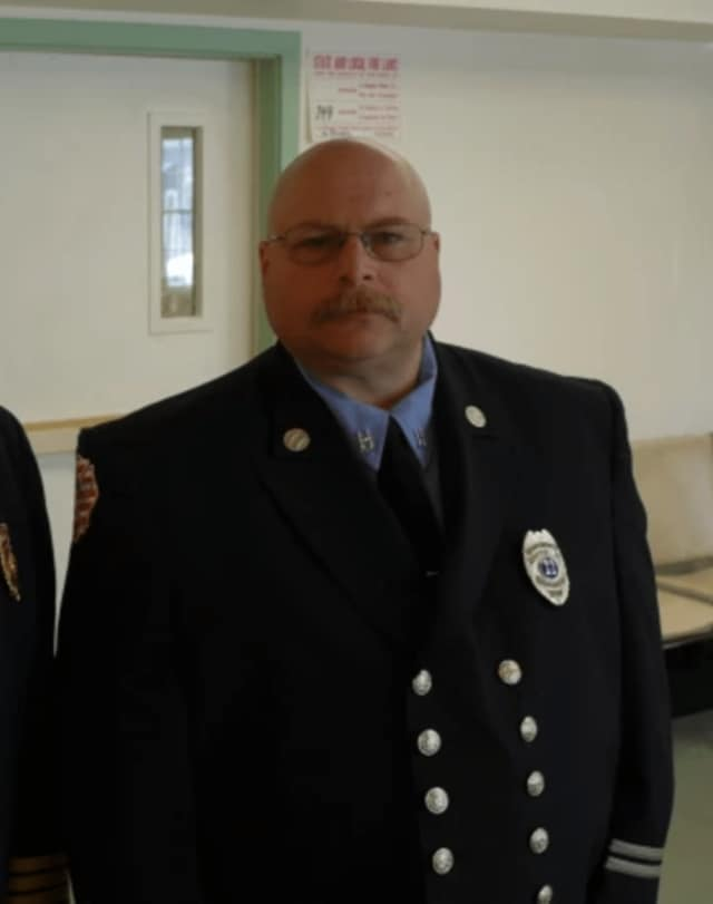 Jerry Myers was selected by the Town Fire Commission to take over as Fire Chief.