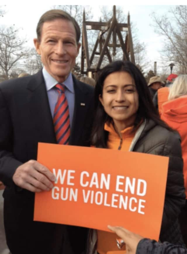 U.S. Sen. Richard Blumenthal will join the #WearOrange rally in Stamford on Friday morning in a call to end gun violence.