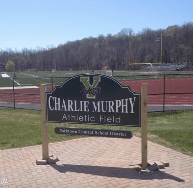 Yorktown High School's athletic complex, which hosted the May 25 Section 1 girls lacrosse championships.