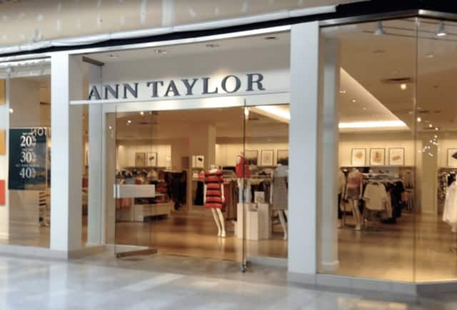 Ann Taylor at the Danbury Fair Mall could be closed under a retail reorganization.