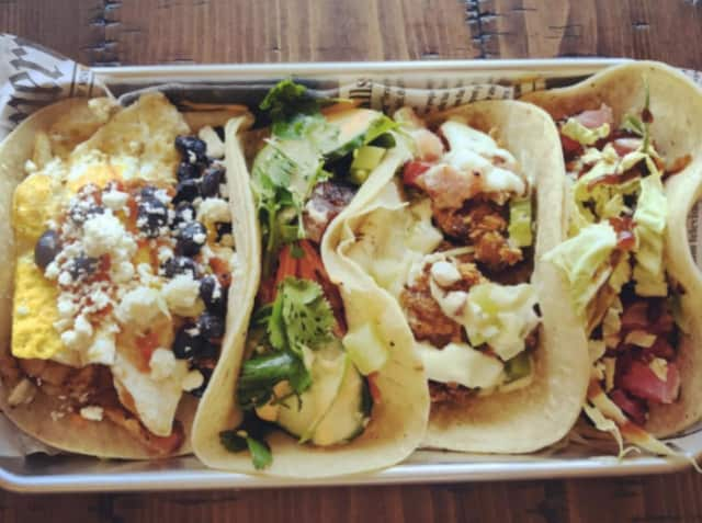 Tacos from the new Little Falls eatery — A Taco Affair.
