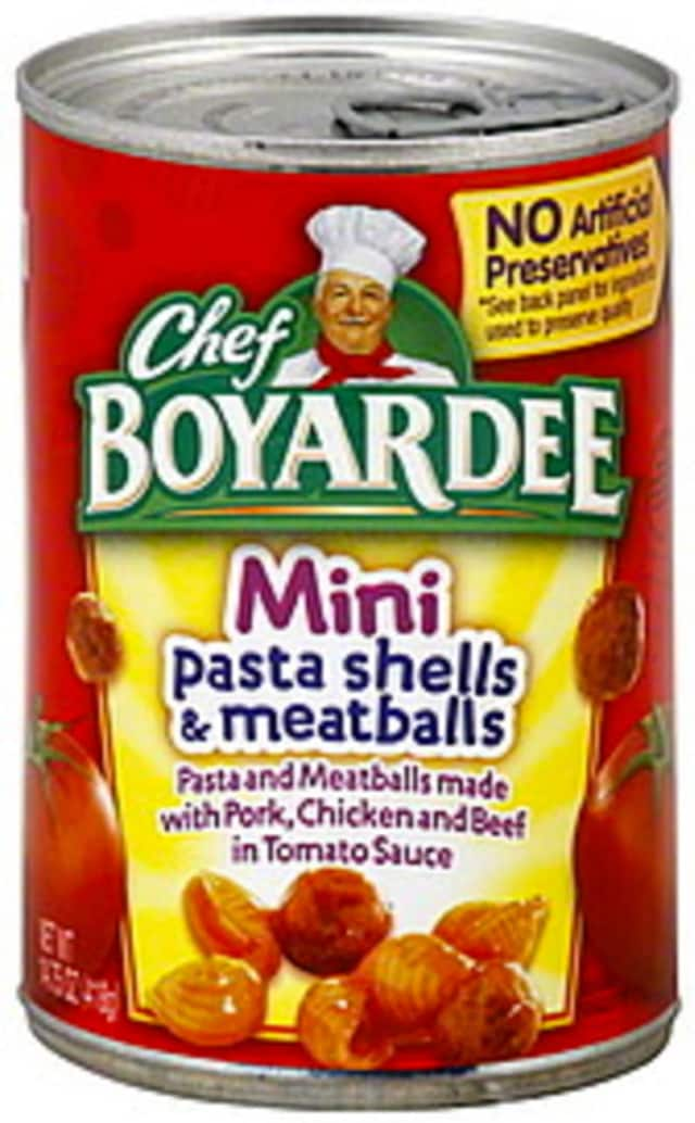 Chef Boyardee products have been recalled.