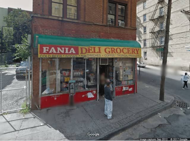 Two men were found dead in the basement area of the Fania Deli on Sunday.
