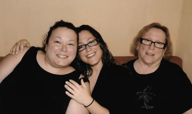 Left to right: Meredith, Rosalyn and Karen Kawer of Montvale.