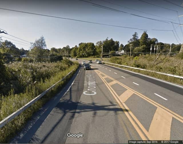 Route 202 near Granite Springs Road in Yorktown Heights.