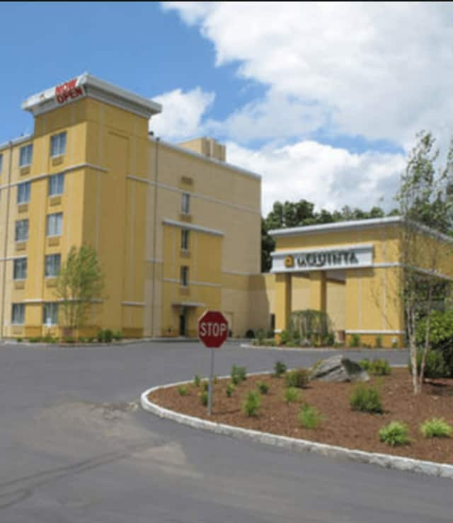 Two people were sent to the hospital after a fight at La Quinta Inn & Suites in Danbury.