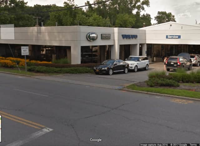 Vandals slashed some 36 tires at the Volvo/Land Rover dealership in Mount Kisco.