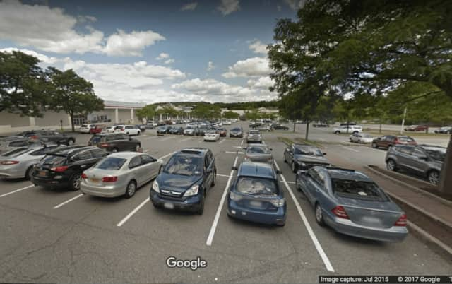 Triangle Shopping Center in Yorktown Heights, where a Katonah woman was charged with leaving a dog inside her hot car.