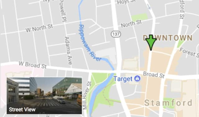 The attempted armed holdup occurred on Summer Street near Spring Street in downtown Stamford, police said.