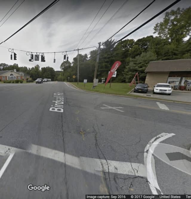 The intersection of Route 6 and Mahopac Avenue.