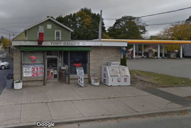 Tony Gallo's  Hi-Way Package Store on North Street near I-84 was damaged in a fire early Tuesday.