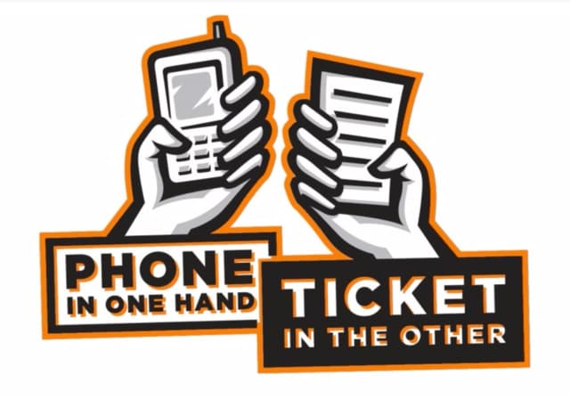 Police across the state will conduct distracted driving enforcement this month.
