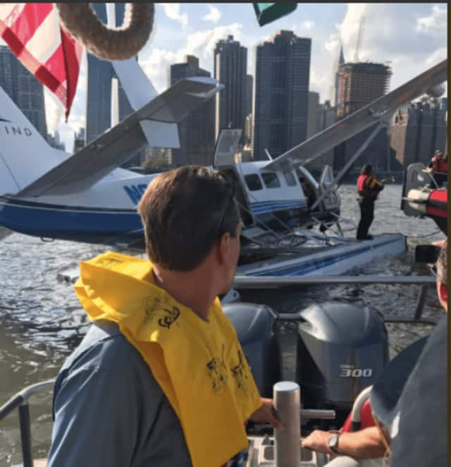 TV creator Bill Lawrence was among 10 aboard a single-engine Cessna operated by a Westchester-based air service that went down in the East River Friday evening.