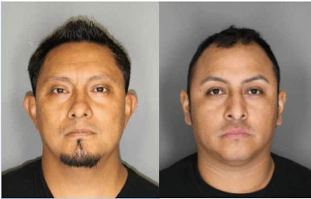 Jorge Victoria-Sanchez, 38, and Andres Hernandez, 34