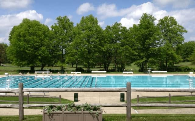 The Scarsdale Municipal Pool.