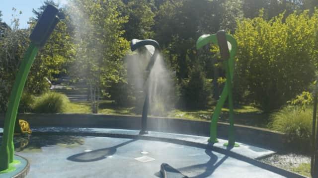 The Mystic Spray Passage in Van Saun County Park.