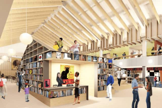 You can see views of the library renovations at www.wltransformationproject.org.