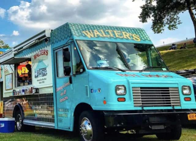 "Walter's Hot Dog Truck is one of many that will be at ""Foodie Fridays"" at the Cross County Shopping Center in Yonkers."