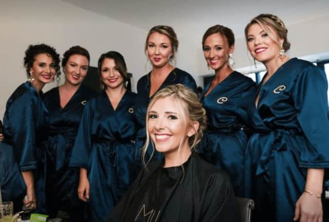 The staff at Marsona Horan Salon is preparing for its official grand opening.