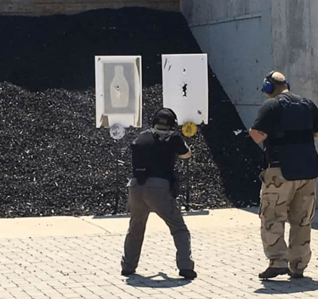 Garfield Police train for the newly-formed Strategic Response Group.