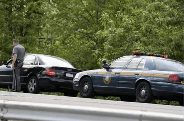 "New York State Police troopers are targeting drivers on the New York State Thruway during ""Speed Week"""