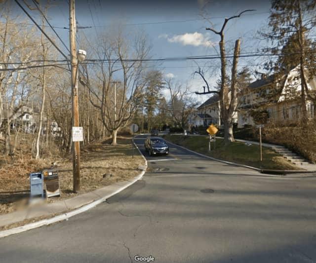 Station Road in Irvington.
