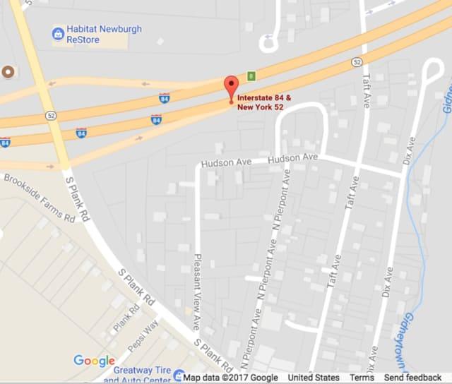 Map Of I 84 New York.I 84 Lane Closures Will Also Impact Route 52 Southwest Dutchess