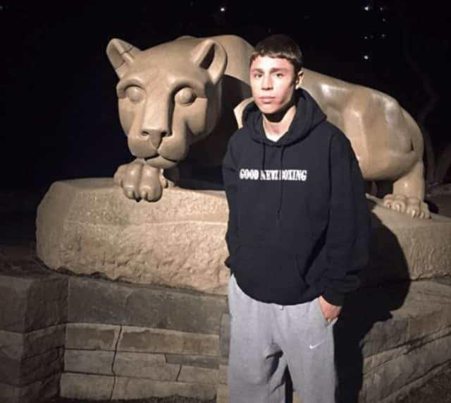 Nittany Lion Nick Suriano of Paramus wants to be a Scarlett Knight.