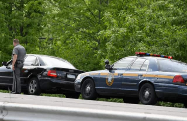 State police troopers issued dozens of tickets on I-684 in Westchester.