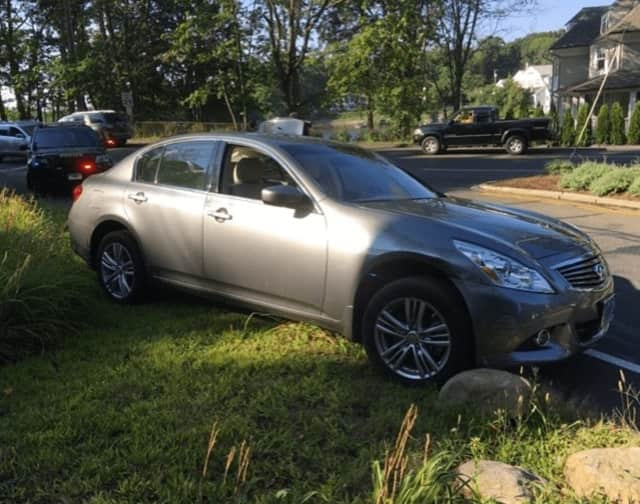 A stolen car was recovered in Norwalk Wednesday