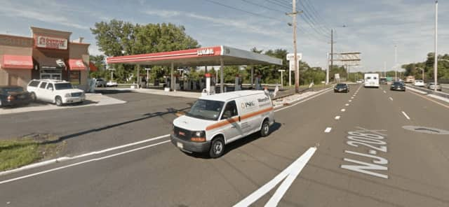 A winning lottery ticket was sold at this gas station in Fair Lawn.