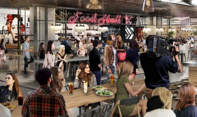 The American Dream will boast nearly 60 eateries in its food court, along with the world's first kosher dining hall.