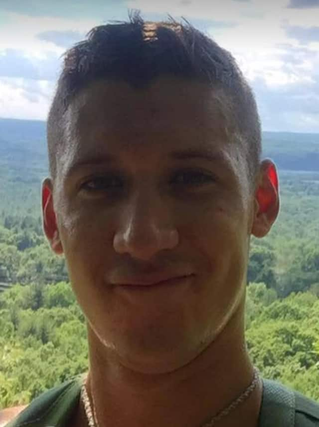 Dustin Doyon of Suffield is missing after a collision of the USS John McCain and an oil tanker.
