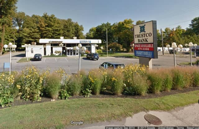 The Trustco Bank in Poughkeepsie.